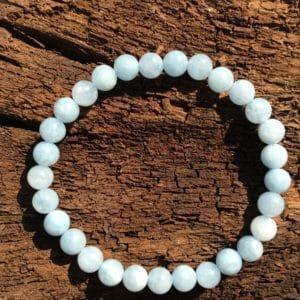 Bracelet pierre Aigue-Marine