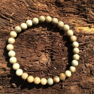 Bracelet pierre Astrophyllite verte
