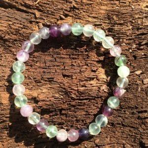 Bracelet pierre Fluorine