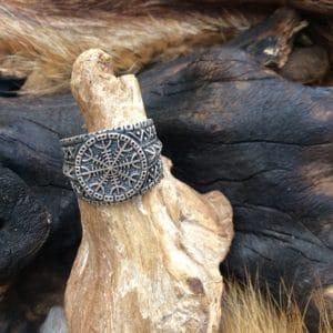 Bague en argent viking