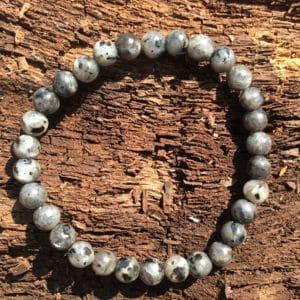 Bracelet pierre Larvikite