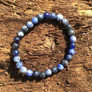 Bracelet pierre Sodalite